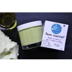 Baume nourrissant - Beurre de karité - Huile de chanvre du Berry