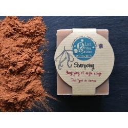Shampoing - Ylang-ylang et argile rouge