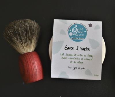 savon-à-barbe-artisanal-et-blaireau