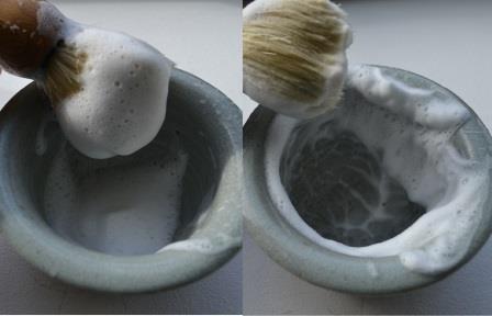 mousse-savon-à-barbe